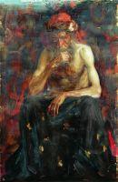 Натурщик в тюрбане. 1890-е
