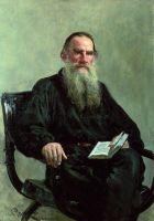 Портрет писателя Л.Н.Толстого. 1887