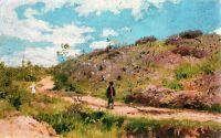 Летний пейзаж в Курской губернии. 1876-1915