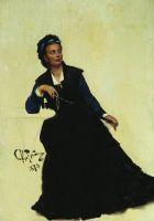 Дама, играющая зонтиком. 1874