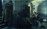 Инок Филарет в заточении в Антониево-Сийском монастыре