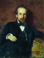 Портрет художника П.П.Чистякова. 1878
