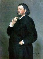 Портрет музыкального деятеля М.П.Беляева. 1886