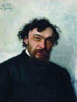 Портрет художника И.П.Похитонова. 1882
