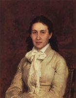 Портрет Е.Г.Мамонтовой. 1874-1879