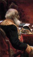 Портрет почетного члена Академии наук и Академии художеств П.П.Семенова-Тян-Шанского. 1901