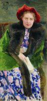 Портрет Надежды Борисовны Нордман-Северовой. 1909