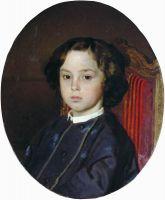 Портрет мальчика. 1867