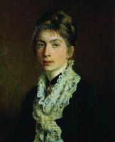 Портрет М.П.Шевцовой, жены А.А.Шевцова. 1876