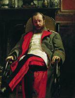 Портрет композитора Цезаря Антоновича Кюи. 1890