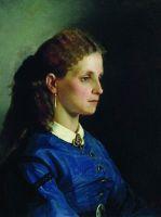 Портрет Яницкой. 1865