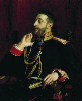 Портрет поэта великого князя Константина Константиновича Романова. 1891