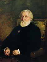 Портрет писателя И.С.Тургенева. 1874