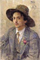 Портрет художника И.И.Бродского. 1913