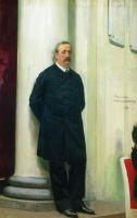 Портрет композитора и ученого-химика Александра Порфирьевича Бородина. 1888
