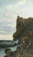 Ласточкино гнездо. 1890 Холст, масло. 102 x 64 Переславль-Зал.