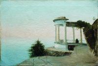 Крым. Старая ротонда. 1890-е Холст, масло. 35.5 x 52.5 ЧС