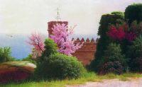 Крымский пейзаж. Холст, масло