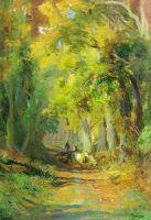 Осенний лес. 1871-1873
