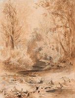 В Крымских горах. Ручей. 1871-1873
