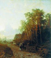 Вечер. 1869