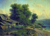 Пейзаж. Парголово (Вид в Парголове). 1868