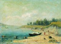 На берегу Волги. 1870