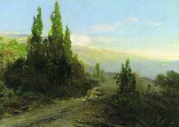 Вечер в Крыму. 1871-1873
