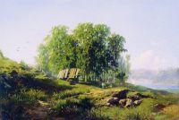 В окрестностях Петербурга. 1868