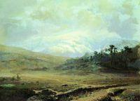 Крымские горы зимой. 1871-1873