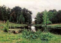 Пейзаж с прудом. 1887