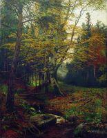 Ручей в лесу. 1900-е
