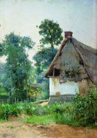 Пейзаж с заброшенным домом. 1897