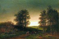 Возвращение стада. 1880-e
