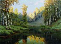 Лесное озеро. 1910