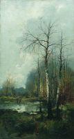Лесной пейзаж. 1880-e
