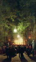 Гулянье в Летнем саду. 1890-е