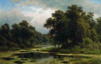 Заросший пруд. 1880-e