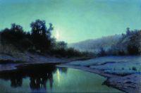 Лунная ночь в лесу. 1899