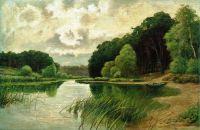 Лесная речка. 1900-е