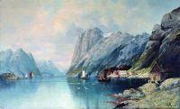 Фьорд в Норвегии. 1899