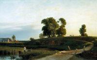 Вид на Лахту в окрестностях Петербурга. 1850