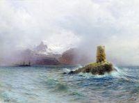 Лафотенский остров. 1895