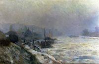 Сена зимой, 1899