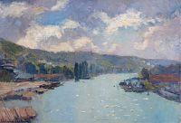 Сена Руан, 1886