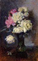 Букет из роз в вазе