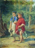 Крестьянские дети.
