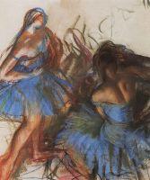 Голубые балерины.