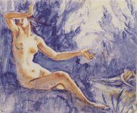 Нарцисс и нимфа Эхо.