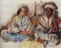 Музыканты (араб и негр).